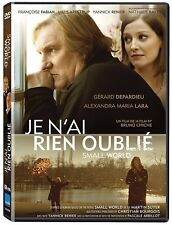 JE N'AI RIEN OUBLIE (SMALL WORLD, DEPARDIEU) - ENF SUB *NEW DVD*