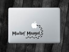 Mischief Managed Sticker Harry Potter Decal For MacBook iPad Laptop Car Window