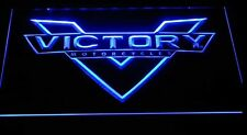 Victory motorcycle LED Neon Sign Night light man cave Garage Room illuminated