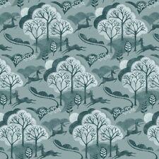 en el Bosque Árboles Acolchado De Algodón Tela Para Costura