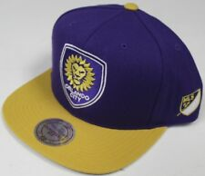 "Orlando City SC MLS Mitchell & Ness ""2 Tone"" Snap Back Hat"