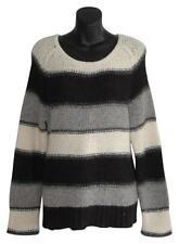 Alice + Olivia Chunky Knit Loose Fit Baby alpaca Wool Sweater sz m medium