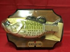 1998 Vintage Big Mouth Billy Bass Singing Fish Sensation Motion Activated