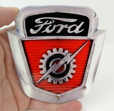 "1954 - 1956 Ford F-100 F100 Truck Emblem Badge Metal Magnet - 4"" X 4"""