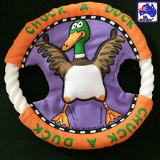 Pet Dog Frisbee Puppy Chew Rope Disc Flyer Training Fetch Toy Duck PFRIS5001