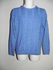 Tricots ST Raphael Sweater SEA HTHR Blue Mens Large Style SR8484 NWT $60