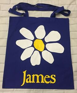James Flower - Royal Blue Tote/Shopper Bag
