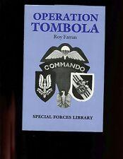 OPERATION TOMBOLA ( SAS in Italy), Roy Farran  1st UK, HBdj  VG