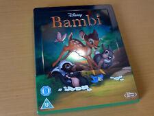 Disney # 13 Bambi - Zavvi Exclusive Limited Edition Steelbook [Blu-ray] emboosed