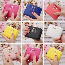 Damen Mini Portemonnaie Geldbörse Geldbeutel Portmonee Mini Börse Brieftasche