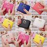 Women Lady Girl Bowknot Clutch Coin Card Purse Wallet Holder Mini Zipper Handbag