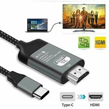 Type C To HDMI 4K 60Hz HDTV Cable Adapter For Samsung Galaxy S10 Note 10 MacBook