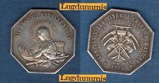 Compagnie des Mines A Charbon D'Aniche 1774 D'Aprés Bessaignet / Jeton Argent