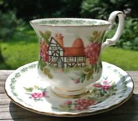 "Vintage ""Kent ""Royal Albert Teacup English Country Cottages"