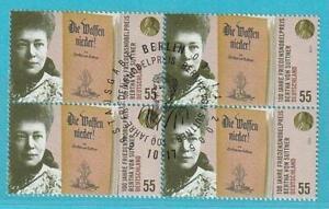 Bund aus 2005 gestempelt MiNr. 2495 Sonderstempel Bertha von Suttner