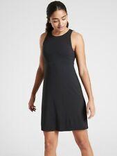 NWT ATHLETA $128 Reversible Santorini Dress Blue Stripe//Black sz S Small