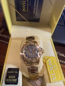 NIB - INVICTA Women's 'ANGEL 26293' Gold-Tone QUARTZ STAINLESS STEEL WATCH