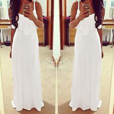 New Summer Women's Boho Long Maxi Dress Evening Cocktail Party Beach Skirt Dress