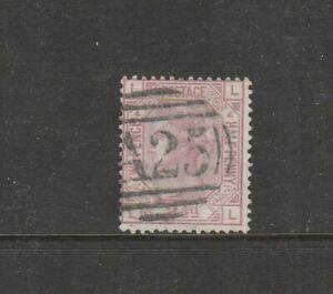 Malta GB Used in 1859/84 2 1/2d Rosy mauve PL 4, LLLL, A25 cancel SG Z38