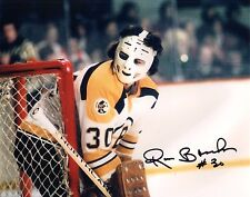 Ross Brooks Autographed 8x10 Boston Bruins Photo NHL
