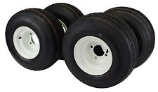 18x8.50-8 with 8x7 White Wheel Assembly (Set of 4) for Golf Cart and Lawn Mower