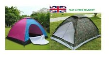 Durable Outdoor Camping Tent Family Hiking Woods 4 Person Camping Tent UK SELLER