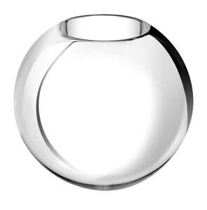 NEW CHRISTOFLE UNI METALLIIZED GLASS VASE SMALL #7936300 BRAND NIB SAVE$$ F/SH