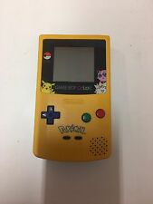Nintendo Game Boy Color Pokémon Edition Yellow Handheld System Works Well Nes Hq