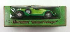 Vintage 1973 Matchbox Models of Yesteryear Y-14 1931 Stutz Bearcat Diecast Car