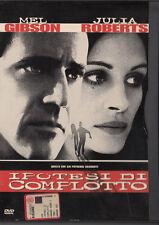 Ipotesi di complotto (1997) DVD - EX NOLEGGIO SNAPPER BOLLINO ROSA
