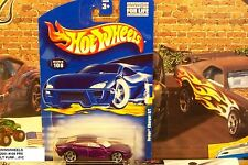 HOT WHEELS 2001 #108 -2 DODGE CHARGER R/T PURP PR5 WHITE INTR 01CA