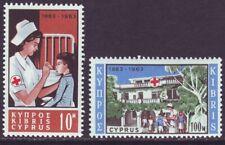 Cyprus 1963 SC 227-228 MNH Set Red Cross
