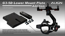 Align G3-5D Gimbal Extension Lower Mounting Plate with weight GG3012XXT