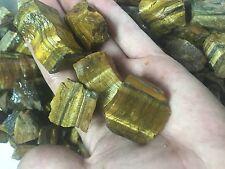 1lb Wholesale Rough Tigerseye Stone Tigereye Bulk Natural Crystals