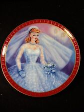 Barbie - Bride-To-Be - High Fashion Barbie Series Collectors Plate