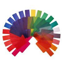 Gels Color Balance Camera Filters Flash Diffuser Filter Card Flash Color