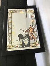 "Rabbit Tanaka Amy Brown Fairy Fantasy Art Mirror - 19.5"" x 13.5"""