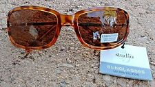New Designer Women's Studio 35 Impression Fashion Essentials Tortiose Sunglasses