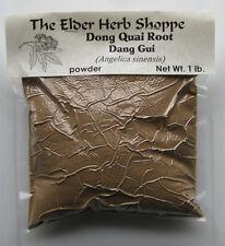 Dong Quai Root (Dang Gui) Powder 1 pound - The Elder Herb Shoppe