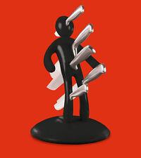 Voodoo® Vudú Knives Supreme Messerblock und 5 teiliges Messerset Messerhalter