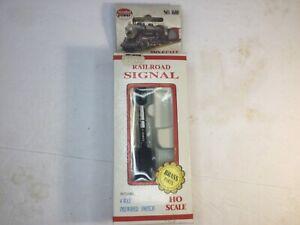 Model Power Ho Scale Railroad Signal No 1680 W 4 Way Prewired Switch No Reserve!