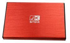 "(JKStor) : 320GB External USB 3.0 Portable 2.5 "" SATA External Hard Drive - RED"