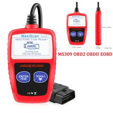 US! MS309 OBD2 OBDII EOBD Car Fault Code Reader MaxiScan MS309 Diagnostic Tool