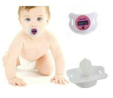 PINK DIGITAL DUMMY SOOTHER PACIFIER BABY TODDLER CHILD ORAL THERMOMETER PORTABLE