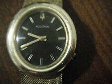 Bulova Accutron  WATCH 218 WOMEN  DAY CODE N1 14K GOLD 1/10 GF WORKING CONDITION
