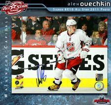 ALEX OVECHKIN Signed 2011 All Star 8x10 Photo - 70482 - Washington Capitals