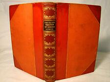 Laurence Binyon. Golden Treasury of Modern Lyrics. 1924 Signed Birdsall Binding