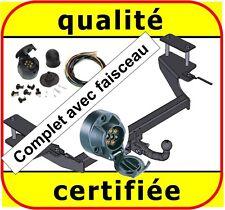 ATTELAGE remorque Fiat Multipla 1999 á 2004 + faisceau 7 broches complet / neuf