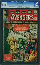 Avengers #1 CGC 4.0 1963 Thor! Captain America! Iron Man! 193 B8 cm