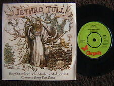 """JETHRO TULL """"RING OUT SOLSTICE BELLS 7"""" 45 E.P. PICTURE SLEEVE U.K. IMPORT"""